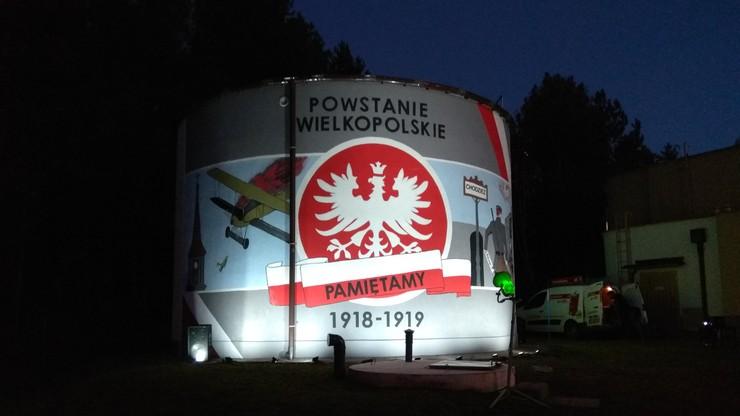 Uczcili Powstanie Wielkopolskie. Wspólnie namalowali na ścianie okolicznościowy mural