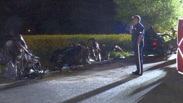 Czołowe zderzenie aut w Lubuskiem. Zginęły trzy osoby, w tym 12-letnia dziewczynka