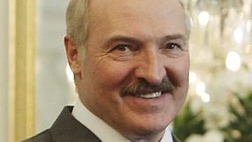 Łukaszenka pokazał się po rzekomym wylewie