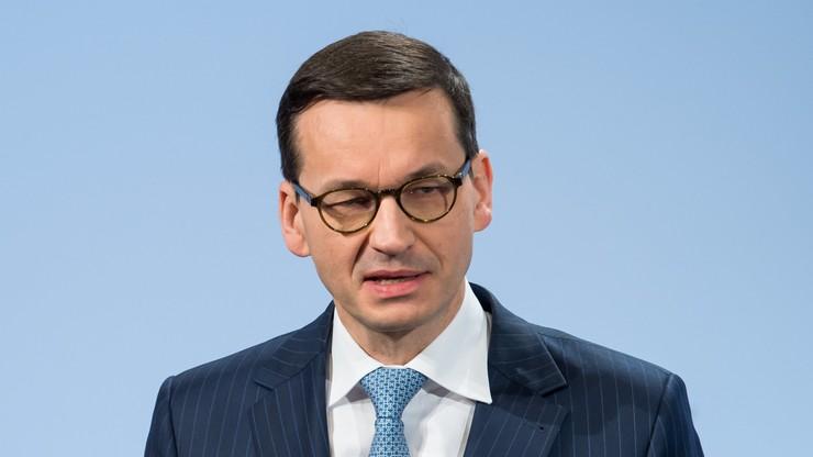 Morawiecki: nowelizacja ustawy o IPN jest konieczna, aby bronić honoru i wizerunku Polski