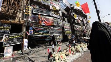 Do 292 wzrosła liczba ofiar śmiertelnych zamachu w Bagdadzie