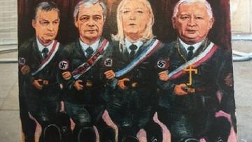 """Kaczyński w mundurze ze swastyką w tygodniku """"Der Spiegel"""""""