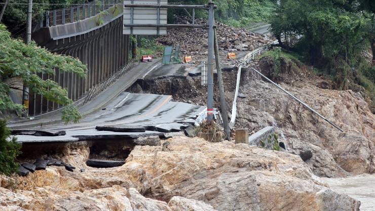 52 ofiary śmiertelne powodzi w Japonii