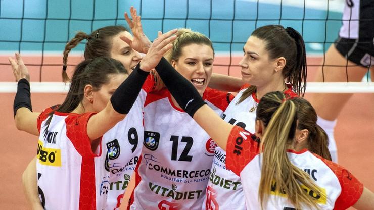 TAURON Liga: ŁKS Commercecon Łódź - Developres SkyRes Rzeszów. Transmisja w Polsacie Sport