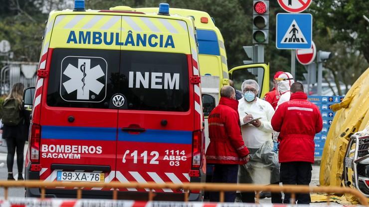 Centrum treningowe portugalskiej kadry przekształcone tymczasowo w szpital