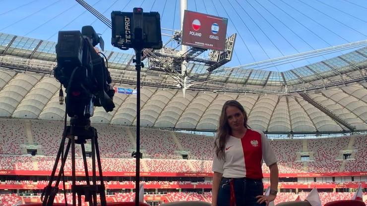 20 lat Polsatu Sport - Justyna Kostyra: Białe linie boiska