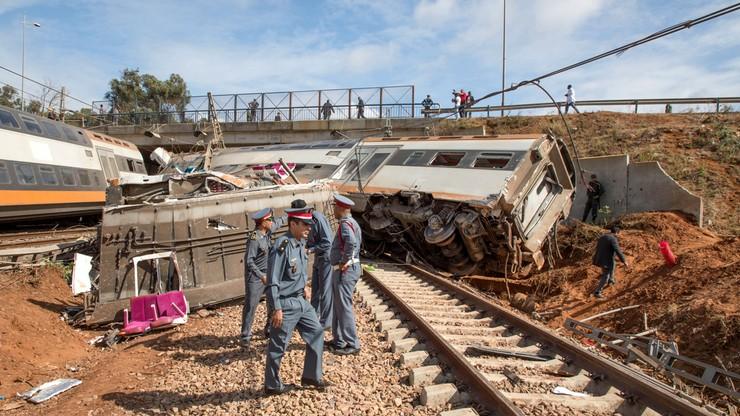 Maroko: co najmniej czworo zabitych i 80 rannych w katastrofie pociągu