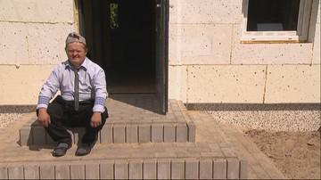 """Brakowało 10 tys. zł na dom dla niepełnosprawnego Rysia. Dzięki widzom """"Wydarzeń"""" zebrano więcej"""
