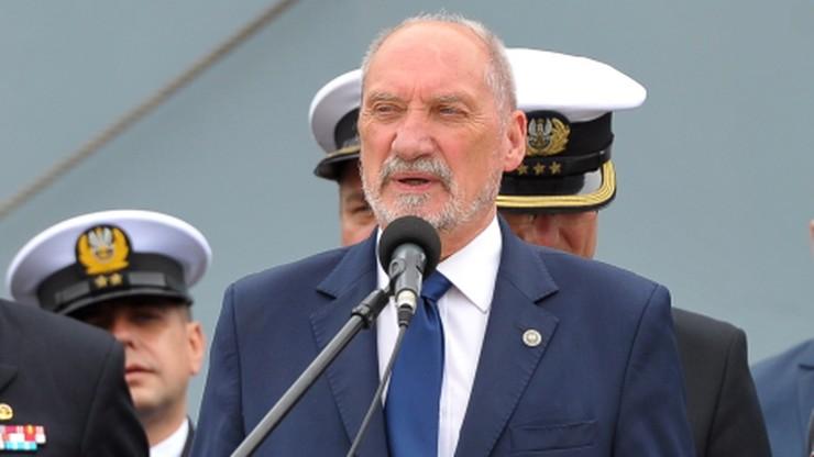 Macierewicz: wydarzenia w Hamburgu to przykład na brak obrony własnego narodu