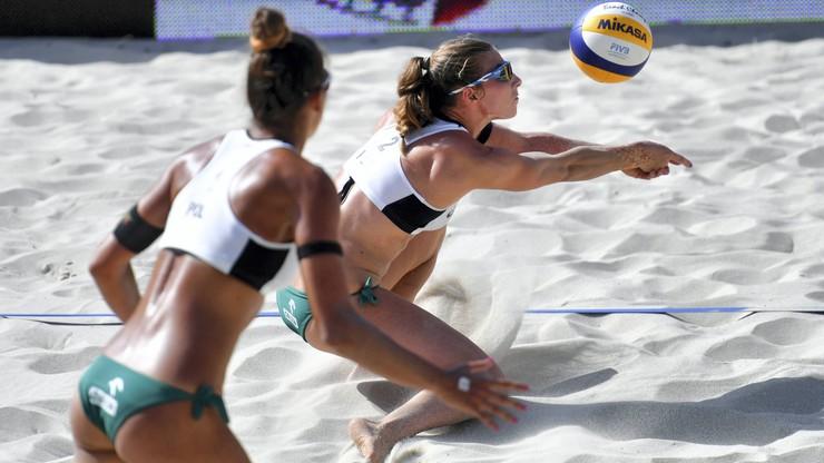 World Tour w siatkówce plażowej: Wojtasik i Kociołek przegrały baraż o 1/8 finału