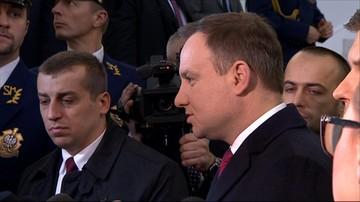 Prezydent: postanowiłem uwolnić wymiar sprawiedliwości od sprawy Mariusza Kamińskiego