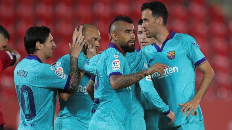 FC Barcelona rozbiła beniaminka na Majorce