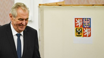 Milosz Zeman zwyciężył w wyborach prezydenckich w Czechach