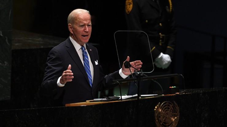 Prezydent Joe Biden: USA nie chcą nowej zimnej wojny