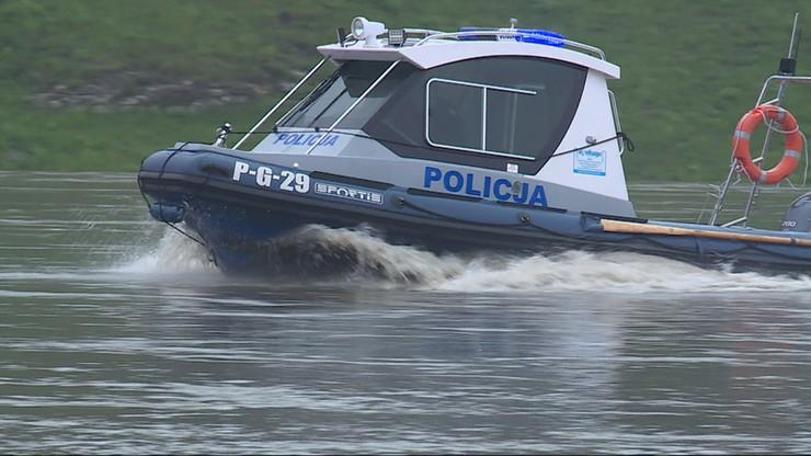 Akcja na jeziorze w Krzyni. Zakończono poszukiwania czterech osób