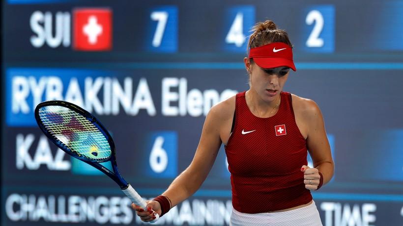 Tokio 2020: Szwajcarka Belinda Bencic pierwszą finalistką turnieju olimpijskiego w tenisie