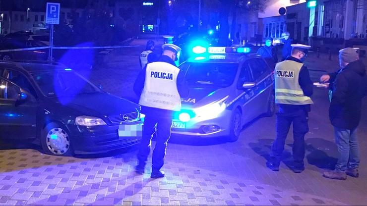 Policyjny pościg w Koszalinie. Nie zatrzymał się do kontroli i spowodował wypadek