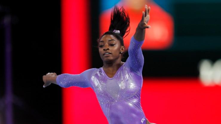 Biles najbardziej utytułowaną gimnastyczką w historii mistrzostw świata