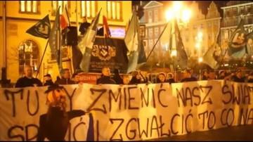 Rzecznik Praw Obywatelskich pyta o sprawę spalenia kukły Żyda podczas demonstracji we Wrocławiu