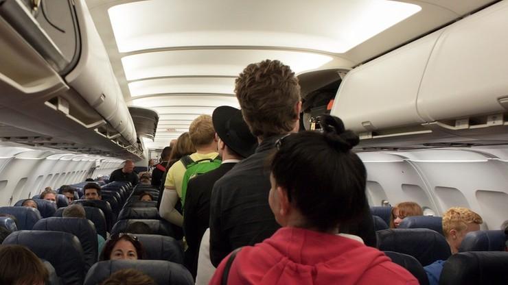 Awantura na pokładzie samolotu. Polka pobiła współpasażerki
