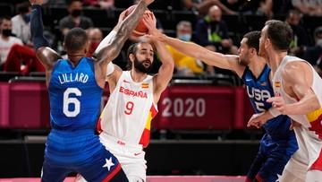 Tokio 2020: Półfinały turnieju koszykarskiego mężczyzn