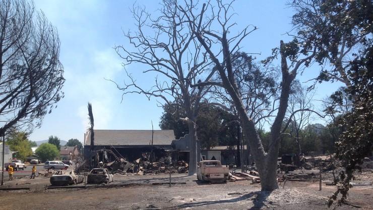 Ogromny pożar lasu w Kalifornii. Tysiące ludzi ewakuowanych