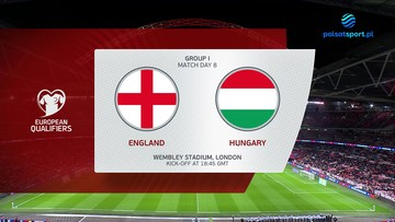Anglia - Węgry 1:1. Skrót meczu