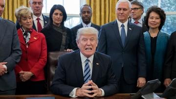"""Trump zlecił sprawdzić """"gdzie marnowane są pieniądze"""""""