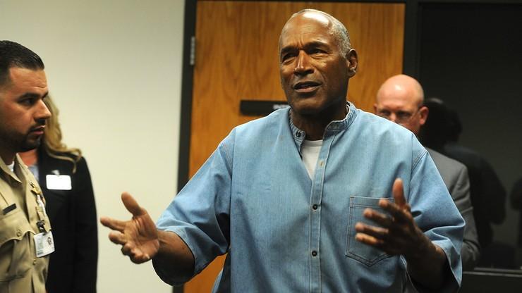 O.J. Simpson warunkowo zwolniony z więzienia. Odsiadywał karę 33 lat pozbawienia wolności