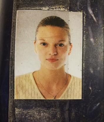 Zdjęcie, które odnalazła bezdomna w pobliżu garażu, gdzie odnaleziono zwłoki