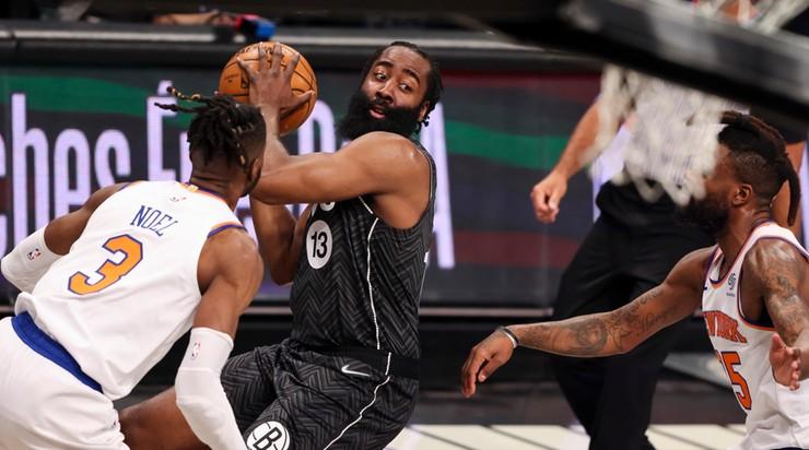 NBA: Setny mecz Jamesa Hardena z co najmniej 40 punktami. Poprowadził Nets do wygranej