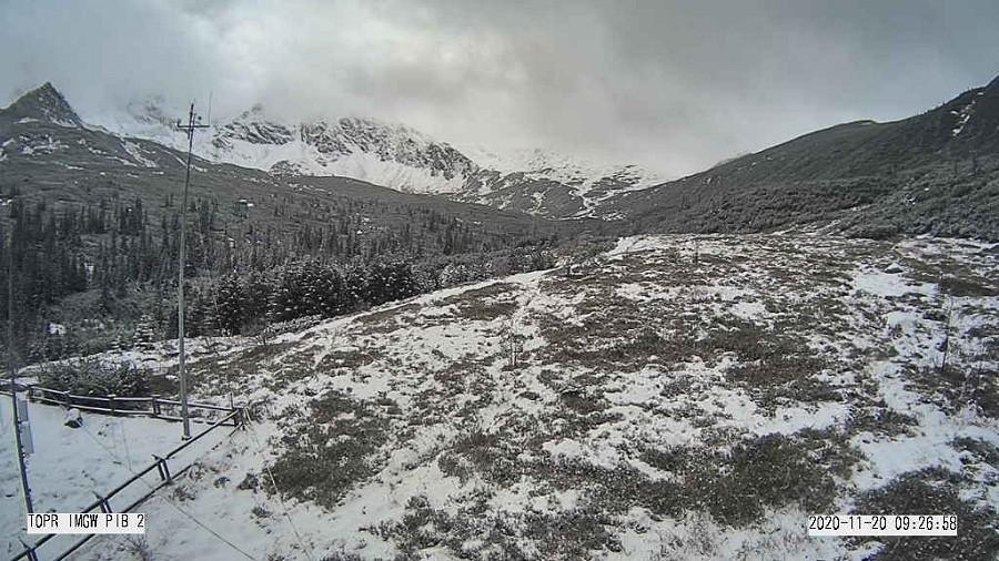 Widok z Hali Gąsienicowej na Kasprowy Wierch w Tatrach. Fot. TOPR / IMGW.