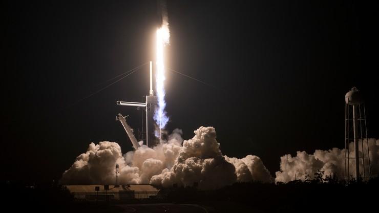 Udany start rakiety SpaceX. Kapsuła Resilience wyniesiona na orbitę