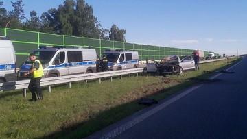 Nie udzielili pomocy po śmiertelnym wypadku na A1. Sprawcy w rękach policji