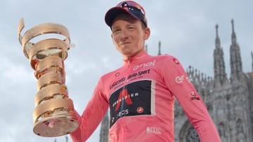 Tao Geoghegan Hart nie obroni tytułu w Giro d'Italia. Kolarz chce nowych wyzwań