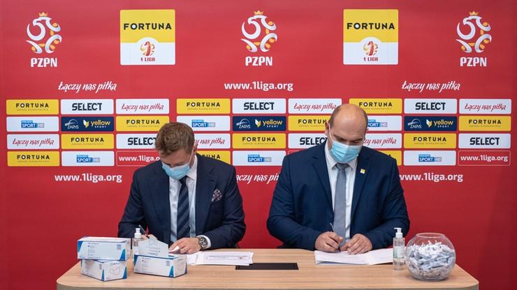 Fortuna 1 Liga z partnerem medycznym