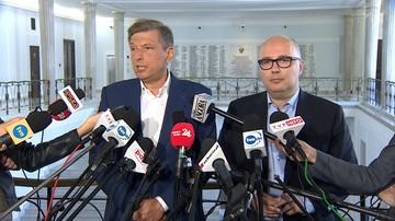 """""""Kłamca nie może być marszałkiem Sejmu"""". Opozycja komentuje  oświadczenie Kuchcińskiego"""