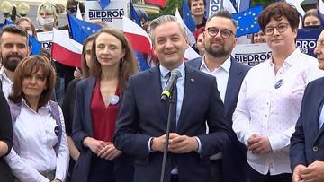 Biedroń: będę ambasadorem mniejszych miast