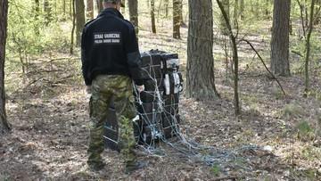 Przemytnicy mają nowe narzędzie. Towar za 90 tys. zł przerzucili przez granicę... dronami