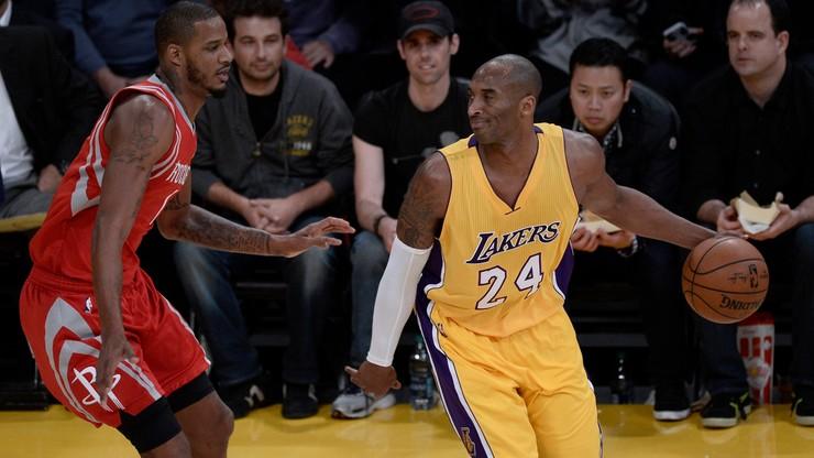 Kobe Bryant z zakazem wsadów piłki do kosza