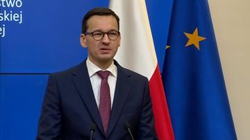 """Morawiecki: w zmianach ordynacji wyborczej nie ma krzty """"niewłaściwych intencji"""""""