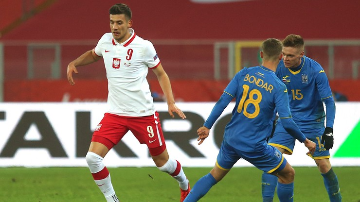 Polska wygrała z Ukrainą w towarzyskim spotkaniu. Debiutancki gol Modera