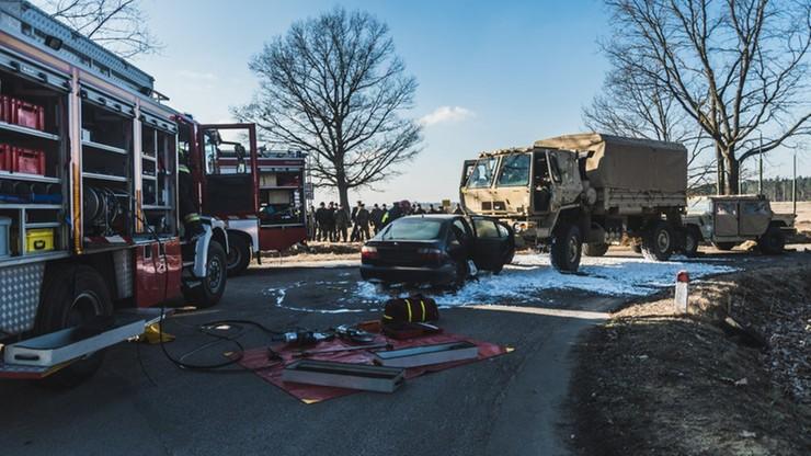 Amerykańscy żołnierze szkolili się na ewentualność wypadku