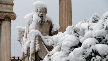Śnieżyce w Grecji i Turcji. Winny wir polarny