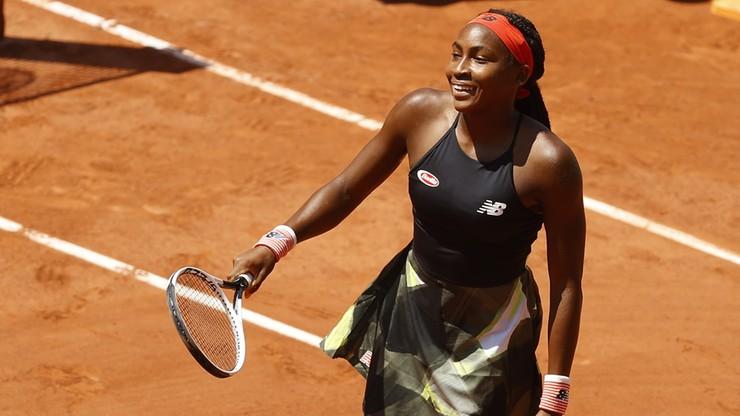 Roland Garros: Cori Gauff najmłodszą od 15 lat ćwierćfinalistką wielkoszlemową
