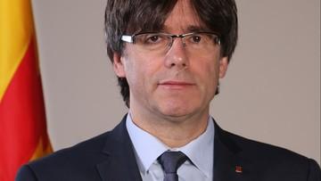 Hiszpania wycofała nakaz aresztowania premiera Katalonii