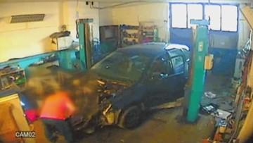 Ukradli auto i rozebrali je na części. Pod okiem kamery, którą sami założyli