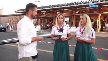 Karolina Naja i Anna Puławska o zdobyciu srebrnego medalu olimpijskiego w Tokio
