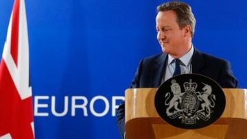 """""""Idą trudne czasy"""". Cameron o sytuacji po referendum"""