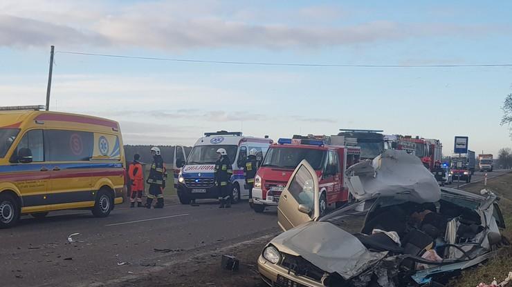 Tragiczny wypadek w Kujawsko-Pomorskiem. Jedna osoba nie żyje, dwie są ranne